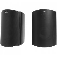 """All Weather Outdoor Loudspeakers with 5"""" Drivers and 3/4"""" Tweeters in Black"""