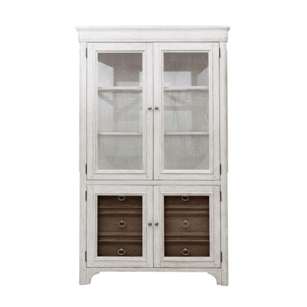Glendale Estates 6 Drawer Curio Cabinet