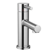 Align chrome one-handle bathroom faucet