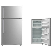 Stainless 14.6 cu. ft. Estar Top Mount