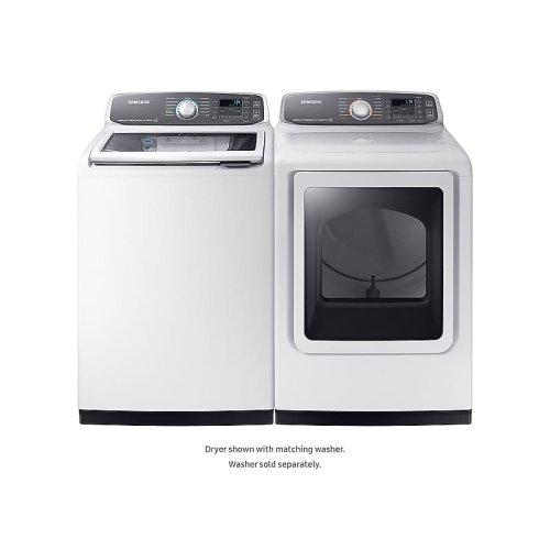 7.4 cu. ft. Gas Dryer in White