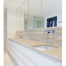 Incline vanity sink
