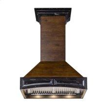 "ZLINE 30"" Designer Series Wooden Wall Range Hood with Crown Molding (321AR-30) **NEW MODEL**"
