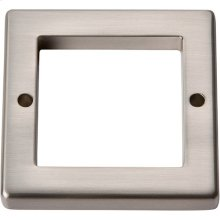 Tableau Square Base 1 13/16 Inch - Brushed Nickel