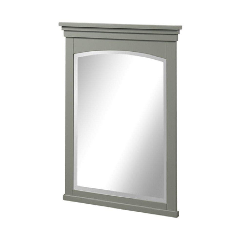 "Shaker Americana 24"" Mirror - Light Gray"