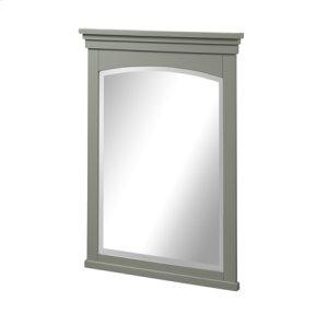 "Shaker Americana 24"" Mirror - Light Gray Product Image"