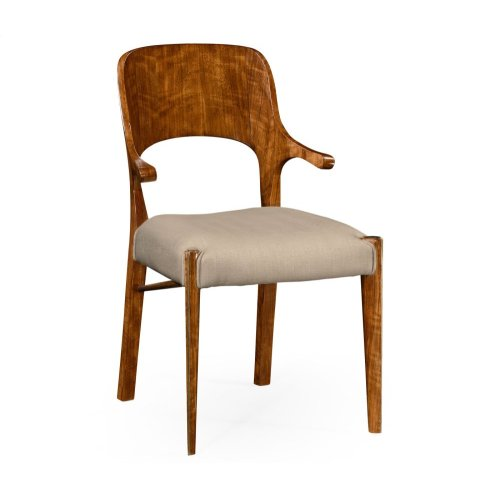 Hyedua Armchair, Upholstered in MAZO