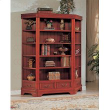 CORNER SHELF,CHERRY 13X13X72H