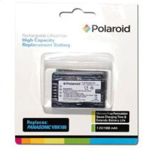 Polaroid Rechargeable Battery Panasonic VBK180 Replcmnt