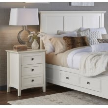 Paragon Nightstand with Black Finish