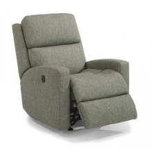 Catalina Fabric Power Rocking Recliner