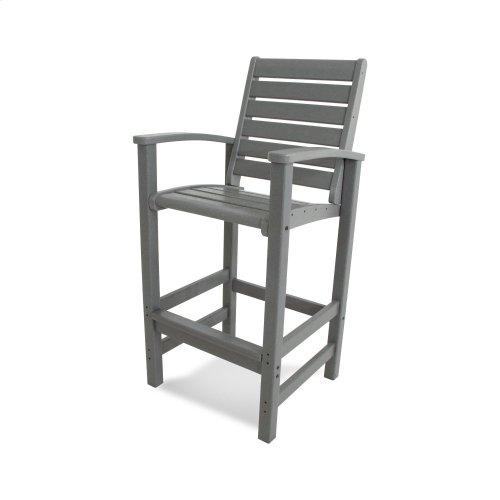 Mahogany Signature Bar Chair