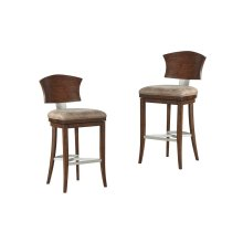 Emerald Home Oxford Hills Swivel Barstool 30 Inch D431-30