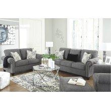 787013   Sofa and Loveseat - Agleno Charcoal