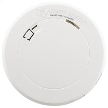 Combination Photoelectric Smoke and Carbon Monoxide Alarm with 10-Year Battery