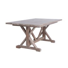 Dining Table, Available in Vintage Smoke Finsih Only.