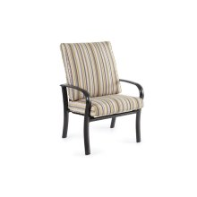 High Back Outdoor Dining Chair