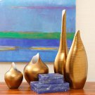 Golden Stripe Vase-XLg Product Image