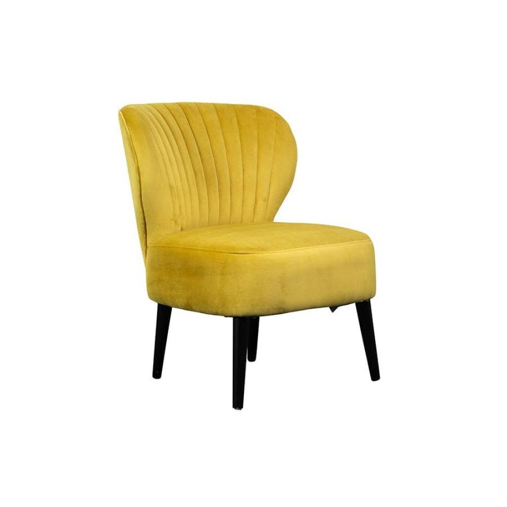 Lolita Gold Accent Chair, AC1843