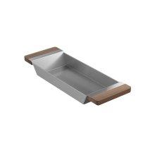 Tray 205037 - Walnut Fireclay sink accessory , Walnut
