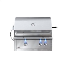 30in Grill 2 Burner w/ Rotiss Burner LP