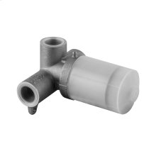 "Wall-mounted washbasin mixer control rough valve for trim 26909 1/2"" connections Drain not included - See DRAINS section"