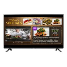 "42'' class (42.2""/1071mm diagonal) LX530S TV Tuner Built-In Digital Signage"