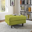 Empress Upholstered Fabric Ottoman in Wheatgrass Product Image