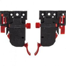 4-way Adjustable Clip with Plastic Base for Undermount Slides Sold by the Pair