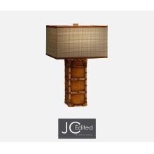 Travel Trunk Style Table Lamp