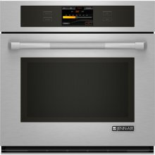 "Single Wall Oven with V2™ Vertical Dual-Fan Convection System, 30"", Pro-Style® Stainless Handle"