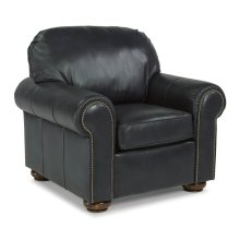 Preston Leather Chair with Nailhead Trim