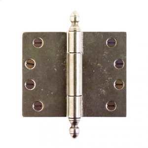 """Butt Hinge - 4"""" x 5"""" Silicon Bronze Brushed Product Image"""