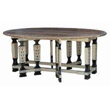 Faux Leg Drop Leaf Table 7'