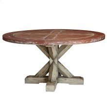 Bankside Trestle Round Dining Table 5'