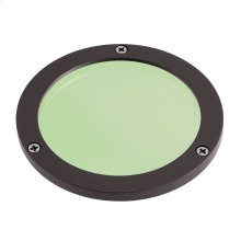 C-Series Large Green Lens Textured Architectural Bronze