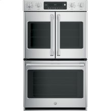 """GE Cafe™ Series 30"""" Built-In Double Convection Wall Oven"""