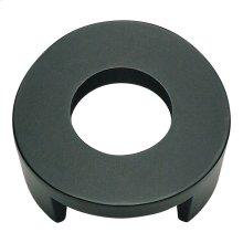 Centinel Round Knob 1 1/4 Inch (c-c) - Matte Black