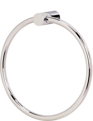 Spa 1 Towel Ring A7040 - Unlacquered Brass Product Image