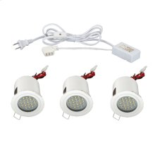 MINILITE KIT 3-LIGHT,FIXED,LED - White