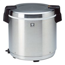 Commercial Rice Cookers / Warmer in Stainless Black - 7.2L (40cups)