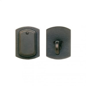 CURVED DEAD BOLT - DB511 Silicon Bronze Brushed Product Image