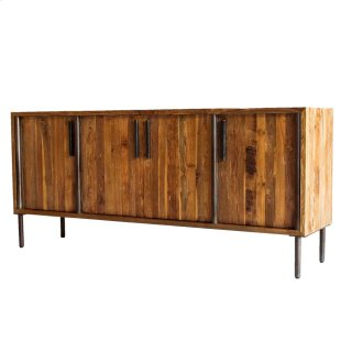 Cabbot KD Buffet 4 Doors, Natural