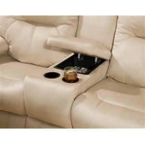 Double Power Reclining Console