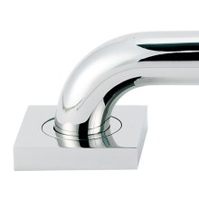 Contemporary II Grab Bar Brackets A8424 - Polished Chrome