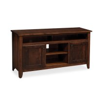 "Shenandoah TV Stand with Soundbar Shelf, Shenandoah TV Stand with Soundbar Shelf, 56""w"