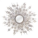 Baxton Studio Goring Contemporary Round Accent Wall Mirror Product Image