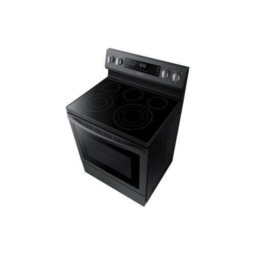 5.9 cu. ft. True Convection Freestanding Electric Range in Black Stainless Steel