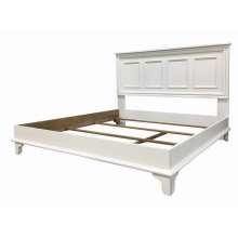Brome Lake Panelled Platform Bed