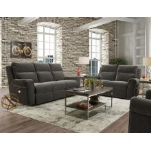 Power Headrest Sofa w/ Console